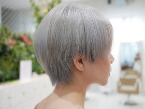 white bleach style